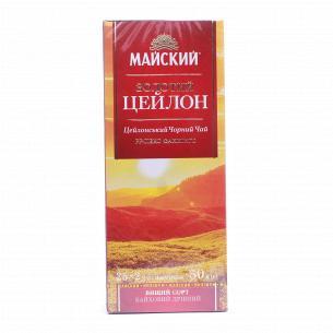Чай черный Майский Золотой Цейлон