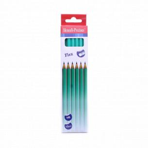 Н-р карандашей простых HB 12шт D001