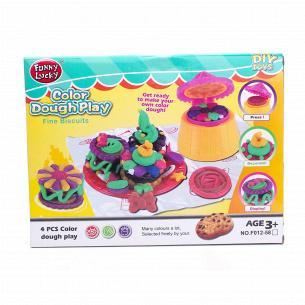 """Игрушечный набор для детского творчества. Тесто для лепки. """"Яркое тесто"""""""