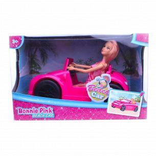 Набор игрушечный Кукла с автомобилем D1