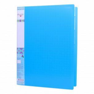 Папка Optima Вышиванка 20 файлов пластик
