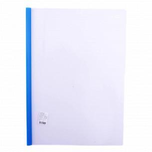 Папка с планкой прижимом пластик Clip