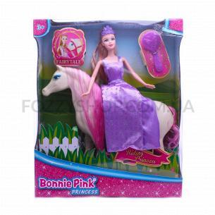 Набор игрушечный Bonnie Pink Кукла с лошадью D1