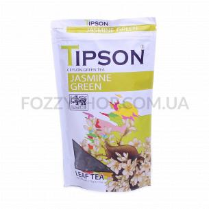 Чай зеленый Tipson Jasmin Green с жасмином