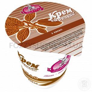 Крем творожный Заречье какао 5%