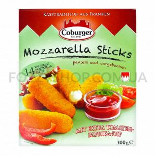 Сыр Coburger Моцарелла палочки д/запекан с соусом