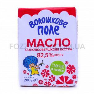 Масло сладкосливочное Волошкове поле Экстра 82,5%