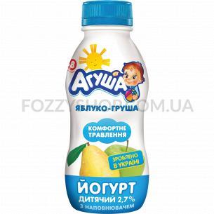 Йогурт Агуша детский яблоко-груша с 8 месяцев 2,7%