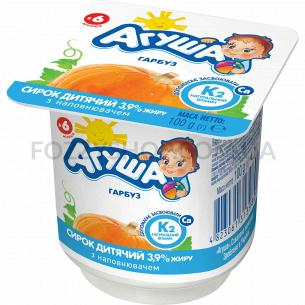 Творожок Агуша детский тыква с 6 месяцев 3,9%