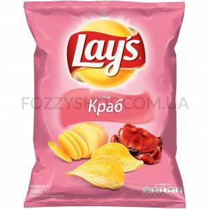 Чипсы Lay`s картофельные со вкусом краба 71г