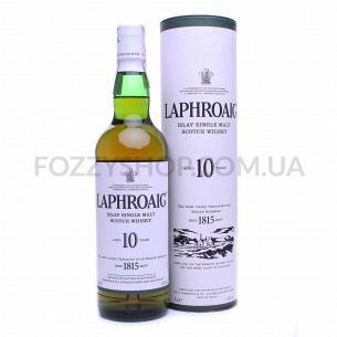 Виски Laphroaig 10 лет в тубусе