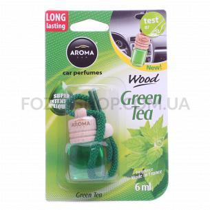 Ароматизатор Aroma Car Wood зеленый чай