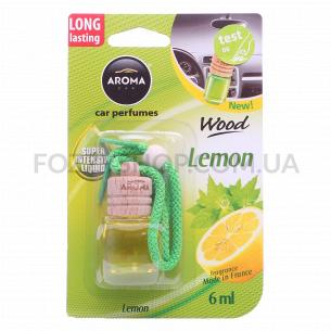 Ароматизатор Aroma Car Wood лимон