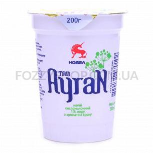 Напиток кисломолочный Новел Тан Айран с укроп 1%ст
