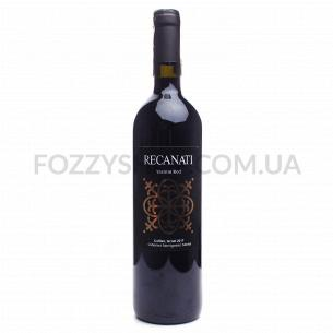Вино Recanati Yasmin Red Mevushal