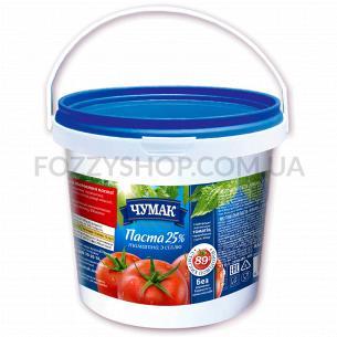 Паста томатная Чумак с солью 25% ведро
