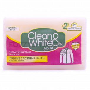 Мыло хозяйственное Duru Clean&White против пятен