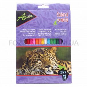 Карандаши цветные Economix Africa E11611