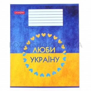 Тетрадь Тетрада Family Line клетка УФ-лак 18лис