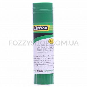 Клей-карандаш 4Office PVA 4-340