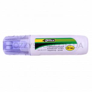 Корректор-ручка 4Office металлический клапан 4-373