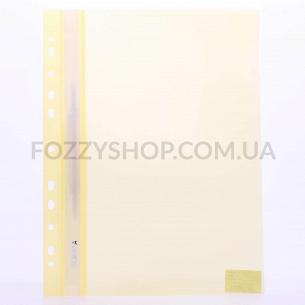 Папка-скоросшиватель А4 желт 03040363 Norma