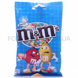 Драже M&M`s с рисовыми шариками в молочн шоколаде
