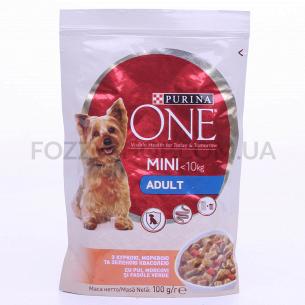 Корм для собак ONE Mini з...