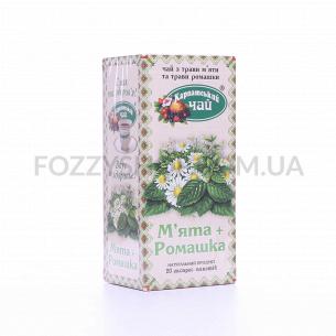 Чай Карпатський чай мята-ромашка