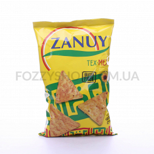 Чипсы кукурузные Zanuy соленые
