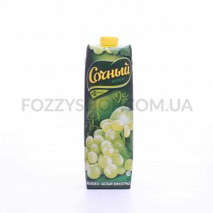 Нектар Сочный яблоко-белый виноград