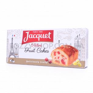 Бисквит Jacquet мини с цукатами и изюмом