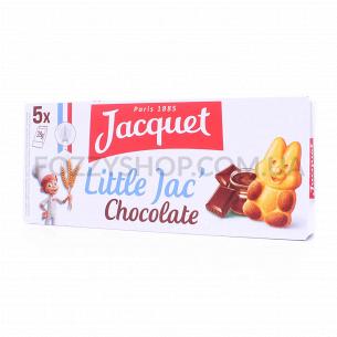 Бисквит Jacquet Маленький Джек с шоколадным наполн