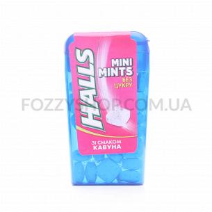 Леденцы Halls mini mints арбуз