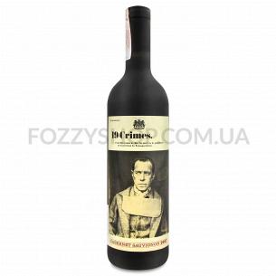Вино 19 Crimes Cabernet Sauvignon красное