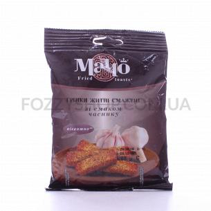Гренки Мачо ржаные жареные со вкусом чеснока