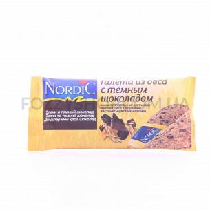 Галета Nordic из овса с шоколадом