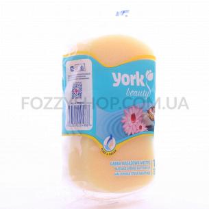 Мочалка для тела York MOTYL массажная
