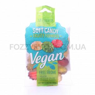 Конфеты Luhders Fruity Flowers Веган желейные
