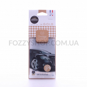 Ароматизатор Aroma Car Prestige Card gold