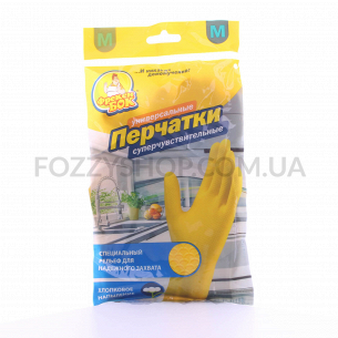 Перчатки Фрекен Бок д/мытья посуды М