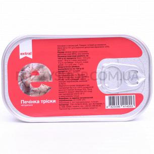 Печень трески Extra! натуральная