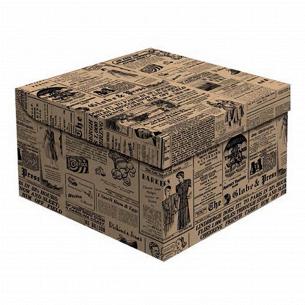 Ящик д/хранения Global-Pak Газета карт 20х20х14см
