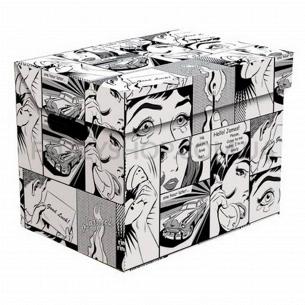 Ящик д/хранения Global-Pak Комикс карт 34х25х26см