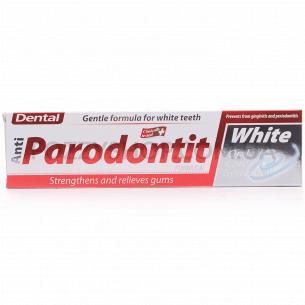 Паста зубная Dental Antiparodontit White