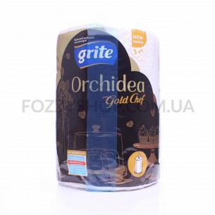 Полотенце бумажное Grite Orchidea Gold Chef
