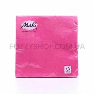 Салфетки Maki с рисунком бумажные 3-слойные M-23