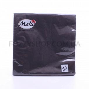 Салфетки Maki с рисунком бумажные 3-слойные M-20