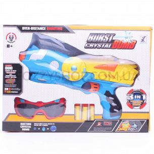 Н-р игрушка Бластер 3в1 со стрелами и очками D1