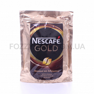 Кофе растворимый Nescafe Gold натуральный